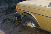lake martin Car in mud