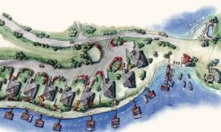 Eagles point lake martin site plan