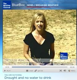 lake martin drought  weather channel