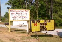 Kowaliga live bait and tackle - cropped