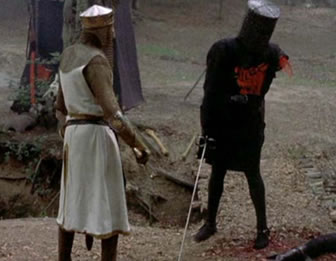it is but a flesh wound