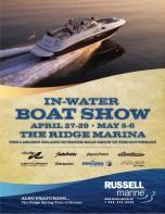 lake martin the Ridge marina boat show