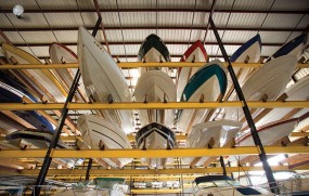 Ridge marina stack storage - small